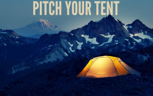 Autumnal Equinox reflection 3 - pitch your tent